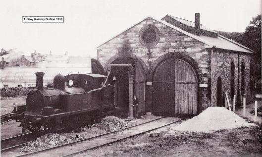 Athboy Railway Station 1939
