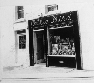Ollie Bird's Grocers. Courtesy of Anne-Bird Leavy.