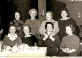 B. Castles, M. Sullivan, M. Walshe, N. Gilroy, M. Finn, B. Newman, Nurse O'Brien and Sister. Courtesy of David Gilroy.