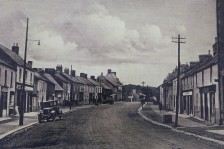 Main Street of Athboy, date unknown. Courtney of Des White.