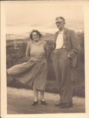 Mervyn was the Postmaster in Athboy. This photo was taken in Aug 1952. Edith was the niece of Frances Carey (nee Lewis), the wife of the former Postmaster, Robert Henry Carey. Edith died Oct 14th 1952, just 2 months after this photo was taken. She was aged 52 Courtesy Peter Coffey