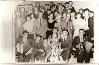 Charlie Prendegast's Harvest Dance circa 1950s. Courtesy of Des White.