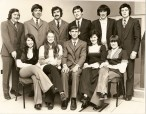 Athboy Macra na Feirme 1973 All Ireland Light Entertainment Winners. Back L-R: Liam Hopkins, Leo Wright, Ebbie Ennis, Des White, John McCormack, Richard Sheridan Front L-R: Marion McGuire, Claire Miggin, Eamonn Cassells, Josephine McDonagh, Beda Dunne. Courtesy of Des White. The Athboy group won the all-Ireland light entertainment competition in 1973 and as a result were invited to represent Ireland at the European Arts Festival in Germany, The group spent seven days in Germany in Sept 73 where they competed against seventeen other European countries.