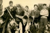 Connaght St. Hurling Team 1940s. Courtesy of Des White