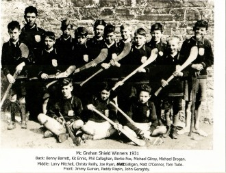 Athboy Youth Hurling Team 1931. Courtesy of Des White.