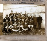 Athboy O'Growney Senior Hurling Team. Courtesy of Des White.