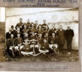 Athboy O'Growney Senior Hurling Team. Courtesy of Des White.