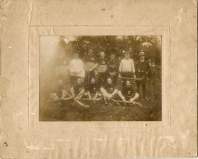 Athboy Hurlers in the 1918. Those pictured include: Jim Finn, Christy Maher, Mark Doherty, Tom Brown, Frank Ennis, Larry Mitchell, Jimmy Griffin, Joyce Doherty Courtesy of Des White.