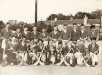 Athboy Hurlers. Back Row: Sean Cassidy, Stephen Farrelly, John McKenna, Leo Wright, Thomas Toherty, Sean Holland, Pat Collins, Des Doherty, Thomas Sheeran, Michael McGovern Front: J. May, Liam Priest, Jimmy Walsh, Cyril Faulkner, Tommy Ennis, Matt Molloy, Michael Mann, ? Sullivan, Martin Doherty Courtesy of Des White.