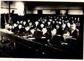 Athboy Boy's National School. Courtesy of Des White.