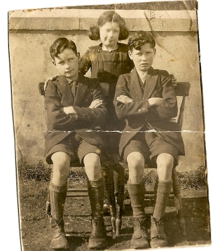 Circa 1937 - From left-right: Christy Leavy, Anna May Leavy & Larry Leavy. Courtesy of the Leavy family