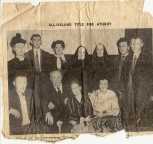 "The cast of Athboy Dramatic Societies award winning production of ""The Righteous are Bold"" Courtesy of the Leavy family."