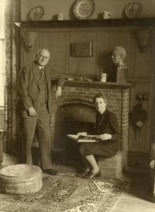 Alice Gladys Parr and William Alexander Clarke in 1944.