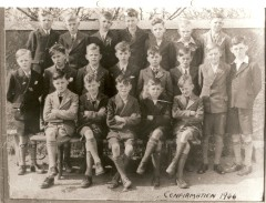 Athboy Confirmation class 1946. Courtesy of Des White.