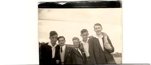 Frank Glennon, Danny Doherty, Andy Byrne, Michael Glennon, Pat Andrews